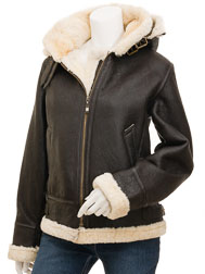 Women's Brown Sheepskin: Chandler