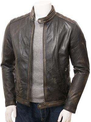 Men's Vintage Leather Jacket: Jacobstowe
