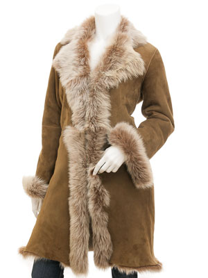 Toscana Shearling in Taupe: Madison