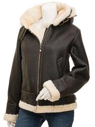 Women's Brown Sheepskin: Chandler